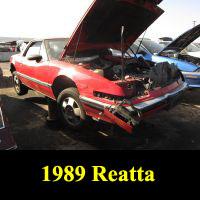 Junkyard 1989 Buick Reatta