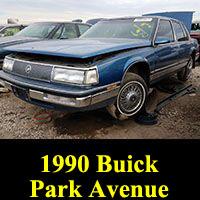 Junkyard 1990 Buick Park Avenue