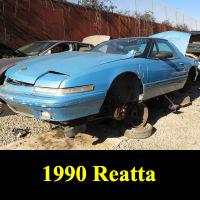 Junkyard 1990 Buick Reatta