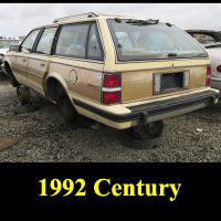 Junkyard 1992 Buick Century Wagon