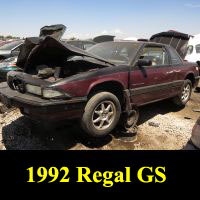 Junkyard 1992 Buick Regal GS