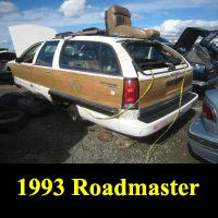 Junkyard 1993 Buick Roadmaster
