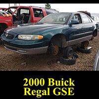 Junkyard 2000 Buick Regal GSE