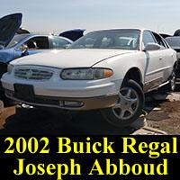 Junkyard 2002 Buick Regal Jospeh Abboud