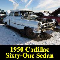 Junkyard 1950 Cadillac Sedan
