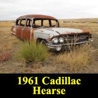 Junkyard 1961 Cadillac Hearse