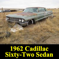 Junkyard 1962 Cadillac 62 Sedan