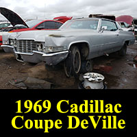 Junkyard 1969 Cadillac Coupe De Ville