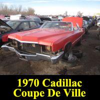 Junkyard 1970 Cadillac Coupe De Ville