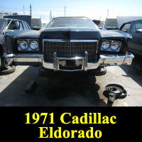 Junkyard 1971 Cadillac Eldorado
