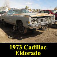 Junkyard 1973 Cadillac Eldorado