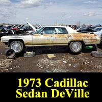 Junkyard 1973 Cadillac Sedan DeVille