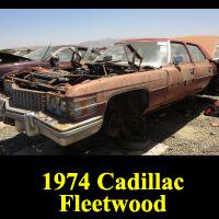Junkyard 1974 Cadillac Fleetwood