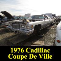 Junkyard 1976 Cadillac Coupe DeVille