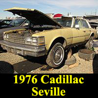 Junkyard 1976 Cadillac Seville