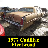 Junkyard 1976 Cadillac Fleetwood Brougham