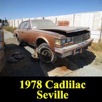 Junkyard 1978 Cadillac Seville