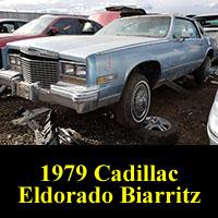 Junkyard 1979 Cadillac Eldorado Biarritz