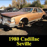 Junkyard 1980 Cadillac Seville