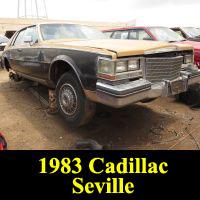 Junkyard 1983 Cadillac Seville