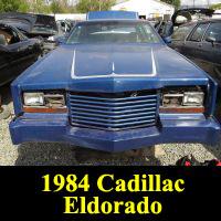 Junkyard 1984 Cadillac Eldorado