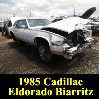 Junkyard 1985 Cadillac Eldorado Biarritz