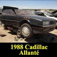 Junkyard 1987 Cadillac Allante
