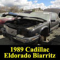 Junkyard 1989 Cadillac Eldorado Biarritz