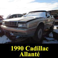 Junkyard 1990 Cadillac Allante