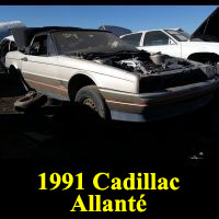 Junkyard 1991 Cadillac Allante