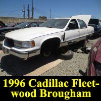 Junkyard 1996 Cadillac Fleetwood Brougham