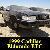 Junkyard 1999 Cadillac Eldorado ETC