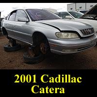 Junkyard 2001 Cadillac Catera