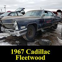 Junkyard 1967 Cadillac Fleetwood 60 Special Sedan