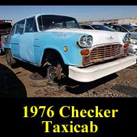 Junkyard 1976 Checker Taxicab