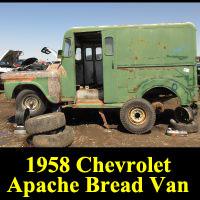 Junkyard 1958 Chevrolet Apache