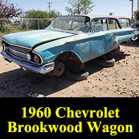 Junkyard 1960 Chevrolet Biscayne Brookwood wagon