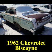 Junkyard 1962 Chevrolet Biscyane