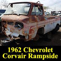 Junkyard 1962 Chevrolet Corvair Rampside Pickup