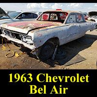 Junkyard 1963 Chevy