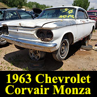 Junkyard 1963 Chevrolet Corvair Monza