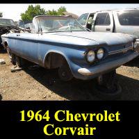 Junkyard 1964 Chevrolet Corvair