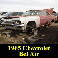 Junkyard 1965 Chevrolet Bel Air