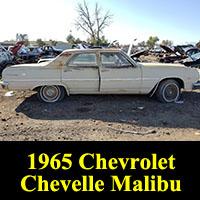 Junkyard 1965 Chevrolet Chevelle Malibu