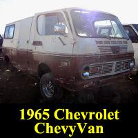 Junkyard 1965 Chevrolet ChevyVan