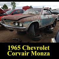 Junkyard 1965 Chevrolet Corvair Monza
