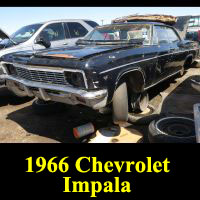 Junkyard 1966 Chevrolet Impala