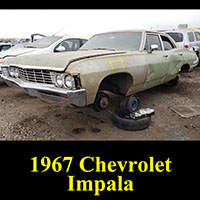 Junkyard 1967 Chevrolet Impala