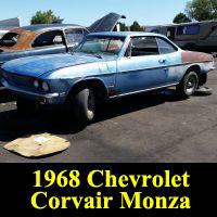 Junkyard 1968 Chevrolet Corvair Monza coupe