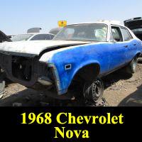 Junkyard 1968 Chevrolet Nova